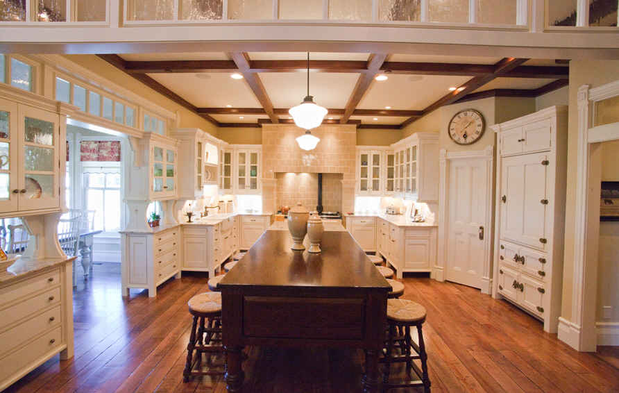 Kitchen inspired by Practical Magic