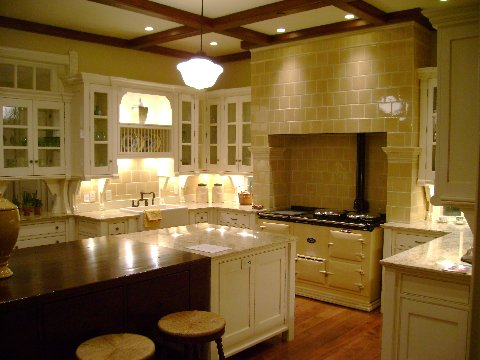 Kitchen inspired by Practical Magic movie house