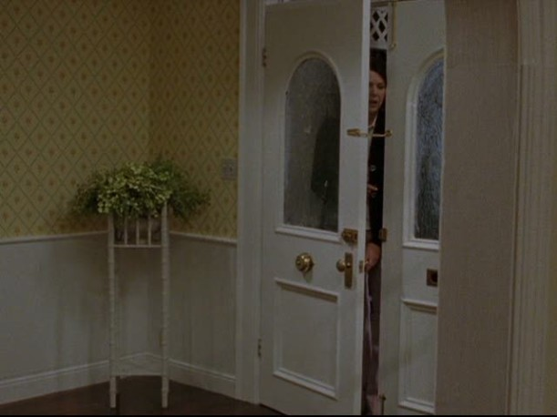 double entry doors of Lorelai\'s house