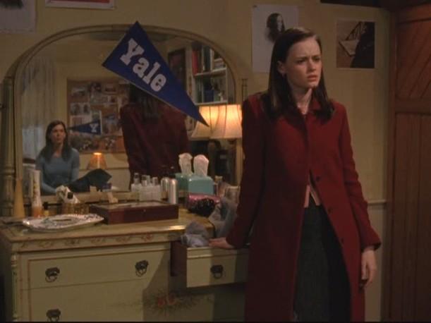Lorelai's house-Rory's room