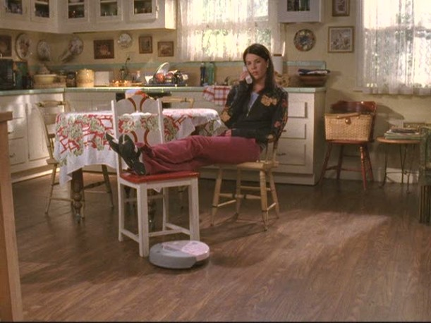 Lorelai's house-kitchen floor