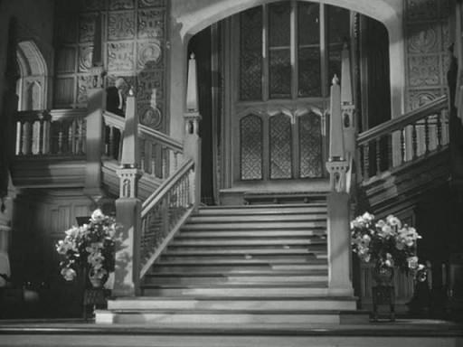 Manderley staircase