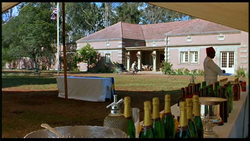 Muthaiga Club in Out of Africa