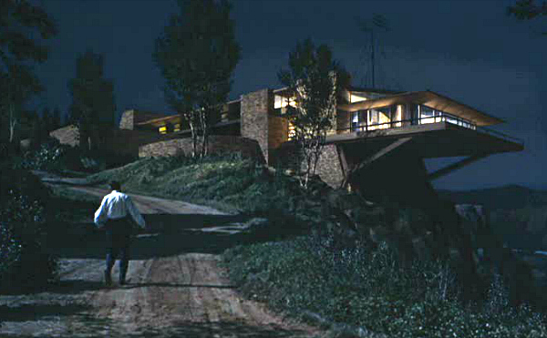 North by Northwest Hitchcock movie Vandamm house 3