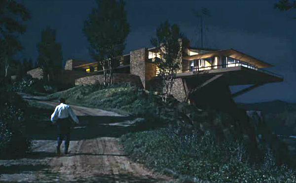North by Northwest Hitchcock movie Vandamm house 3