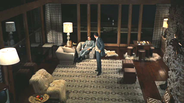 North by Northwest Hitchcock movie Vandamm house 5