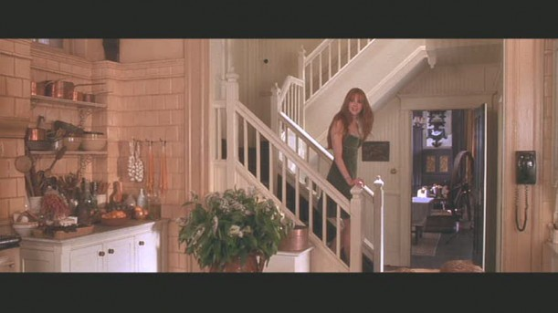 Practical Magic-kitchen stairs