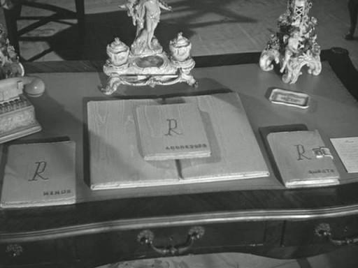 Rebecca's writing desk