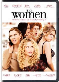 The Women remake 2008 DVD cover