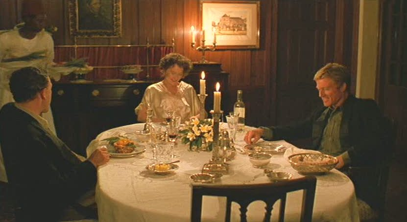 Karen Blixen\'s Farm House dining room table in Out of Africa
