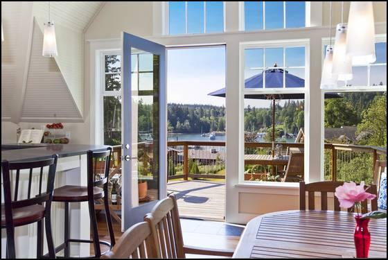 Bainbridge-view from kitchen