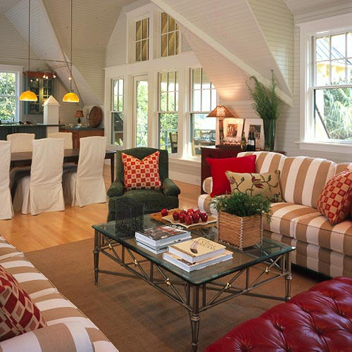 Coastal Living Room Decorating Ideas Des