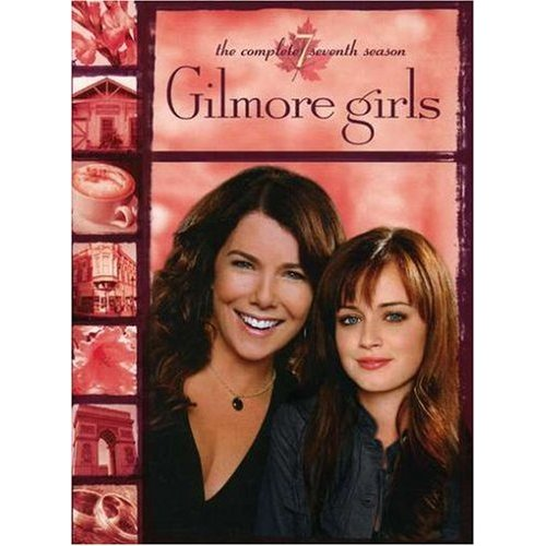 Gilmore Girls DVD cover-Lauren Graham Alexis Bledel