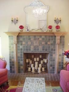 Mod Vintage Life-fireplace