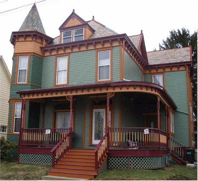 Victorian house after 1