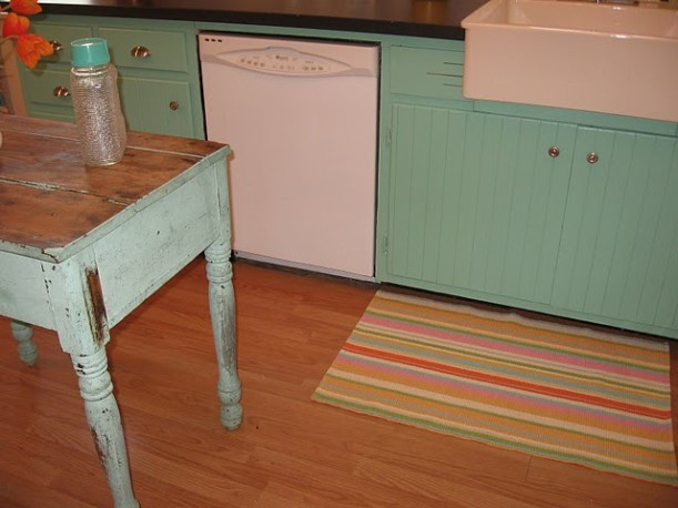 Vintage Sassy kitchen after 4