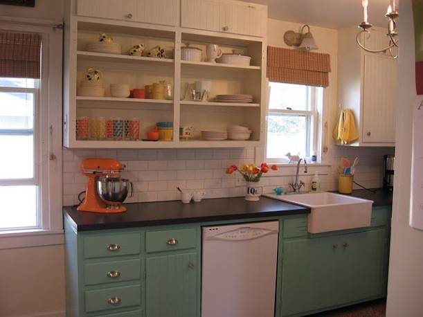 Vintage Sassy kitchen after