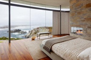 Freshome-cliff house bedroom