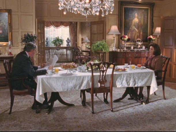 Gilmore dining room long