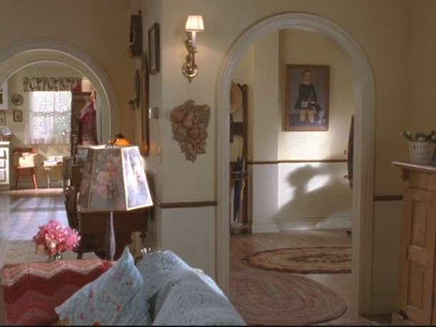 painting in Lorelai\'s entry hall