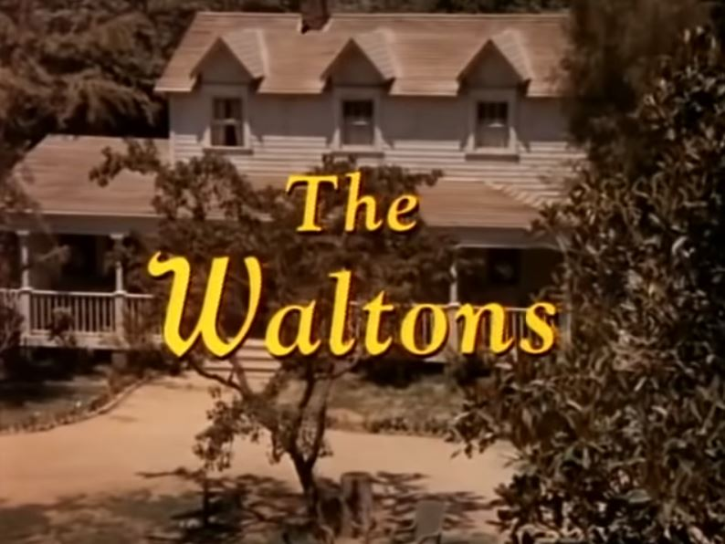 The Waltons house from opening credits of TV show
