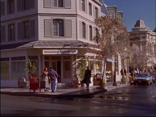 front of Luke's Diner