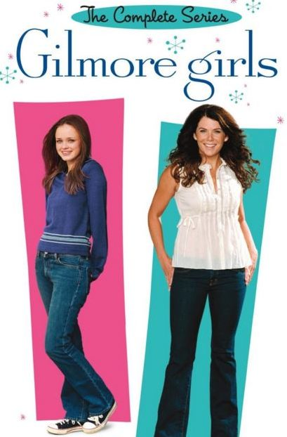 gilmore girls dvd set