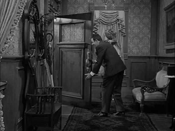 Addams Family front door