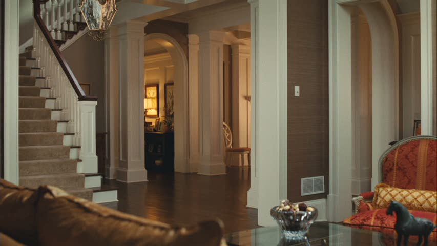 front hall inside the house from The Blind Side movie