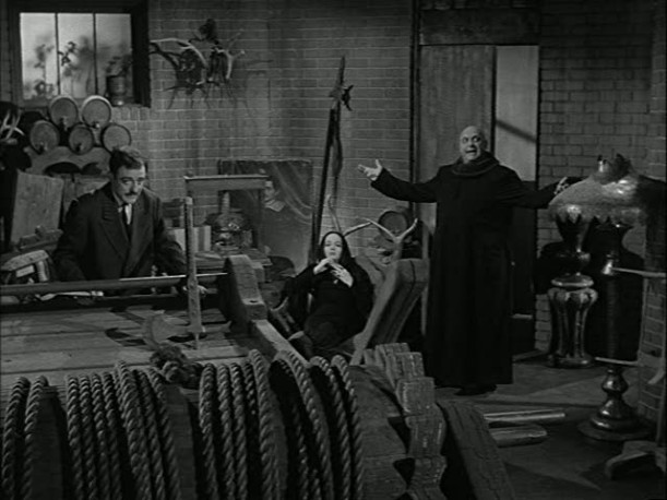 characters in the dungeon playroom