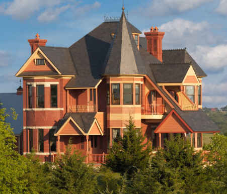 Victorian, Colonial, Vacation House Building Plans – Donald A