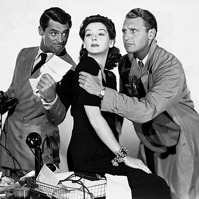 His Girl Friday movie poster 1940