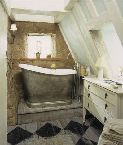 Iris's cottage bathroom-tub