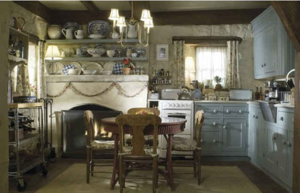 Iris's cottage kitchen-still