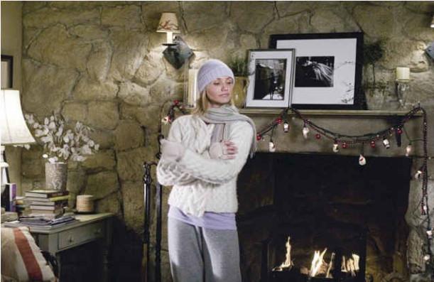 Iris's mantel-Christmas