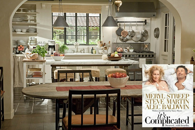 It's Complicated movie Meryl Streep's house set design
