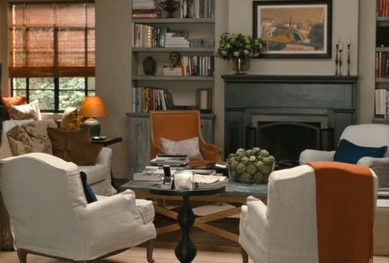 Living Room Set Design It's Complicated Movie