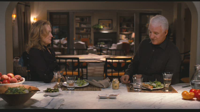Meryl Streep and Steve Martin It's Complicated kitchen