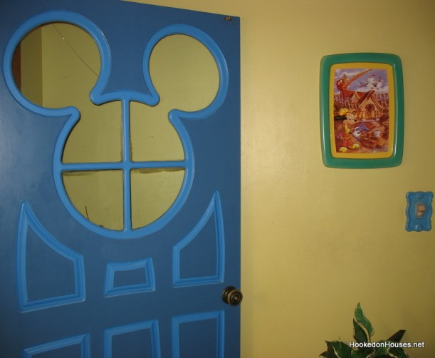 Mickey Mouse's House-door