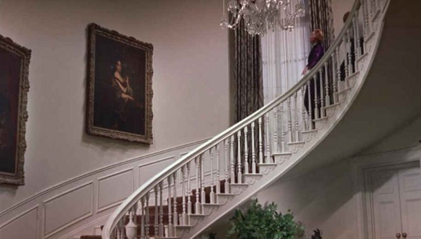 Auntie Mame staircase #4