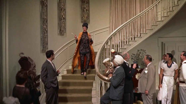 Auntie Mame staircase