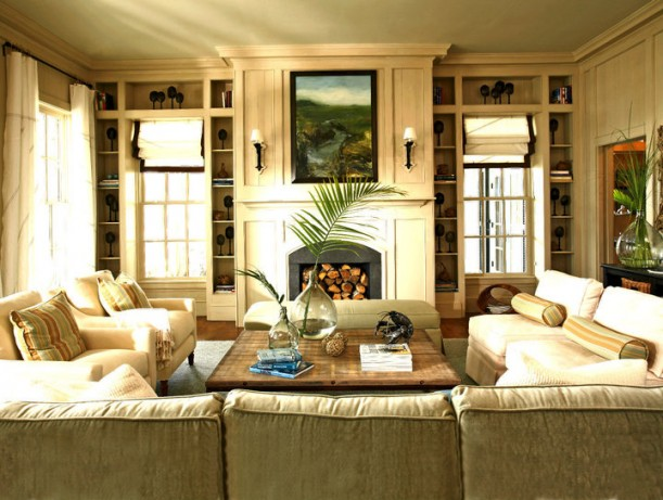 Coastal Decorating Ideas For Living Rooms: Coastal Living Idea House Destroyed By Fire