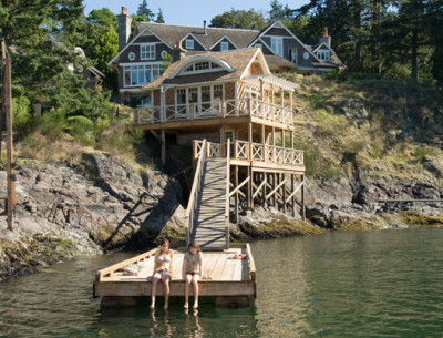 "The Bowen Island Dream House from ""The Uninvited"""
