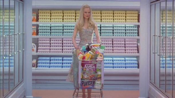 Nicole Kidman shopping