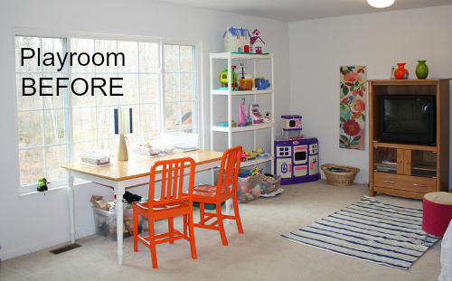 Our Playroom Before Makeover