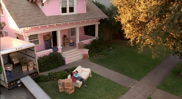 pink house from 13 going on 30