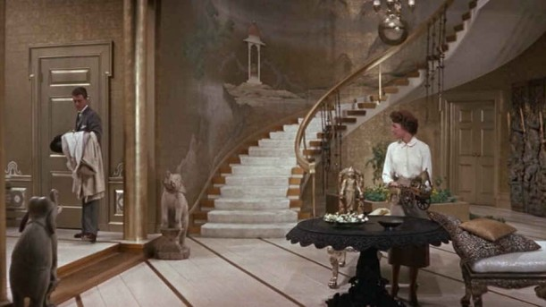 staircase makeover in Auntie Mame