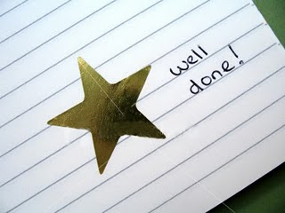 A Gold Star-well done
