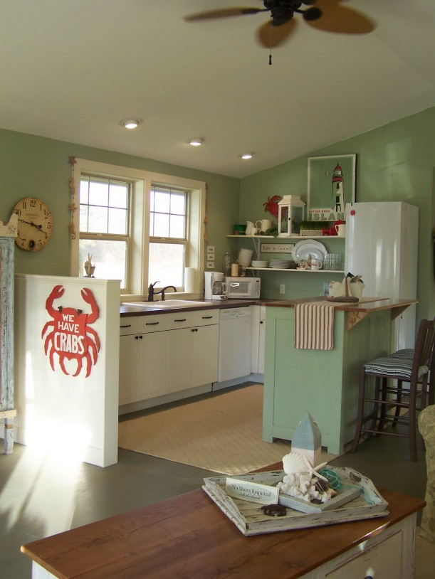 Coastal Nest kitchen