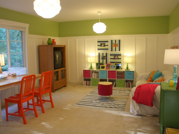 Julia's Playroom-Board & Batten